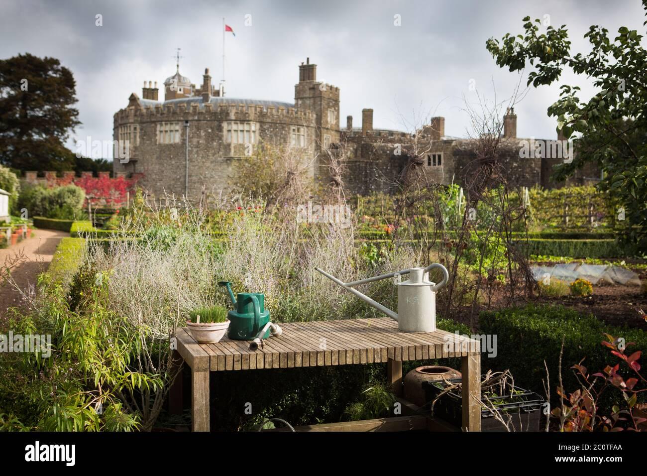Castillo de Walmer Foto de stock