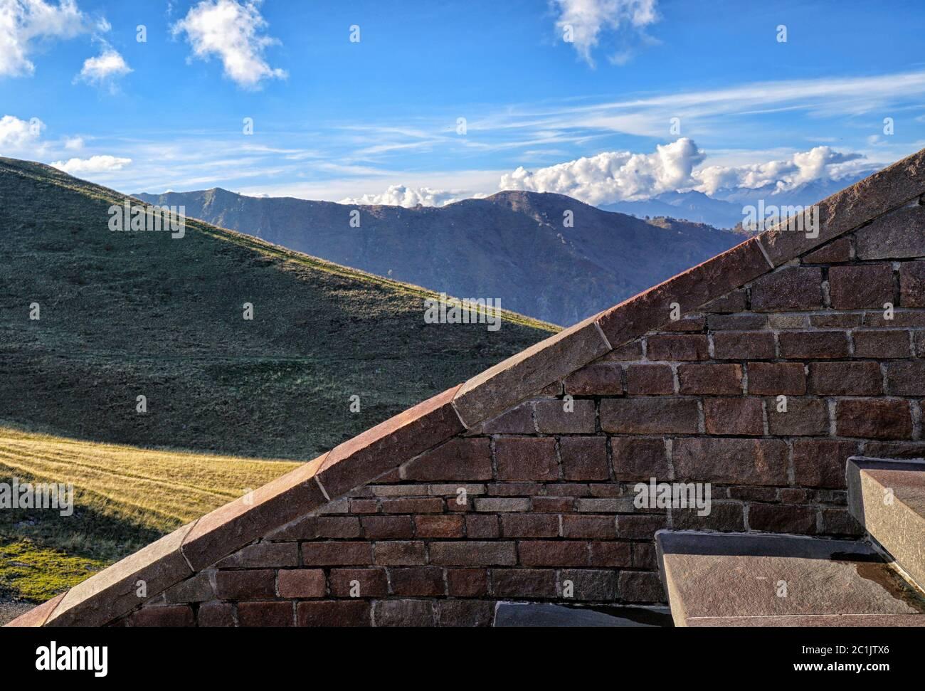 Monte Tamaro 2 Foto de stock