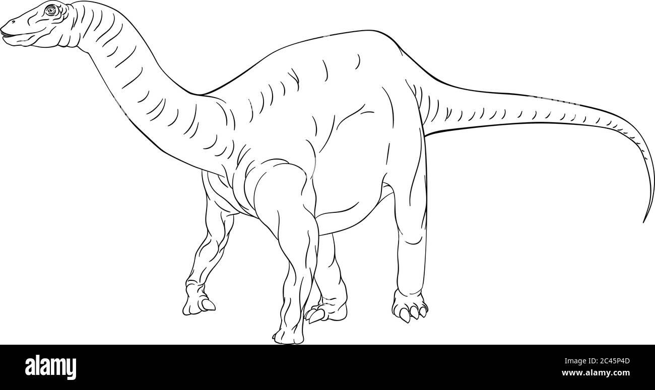 Jurassic Park Book Fotos E Imagenes De Stock Alamy Jurassic park en tu casa. https www alamy es dinosaurio diplodocus brontosaurus contorno coloreado image364003485 html