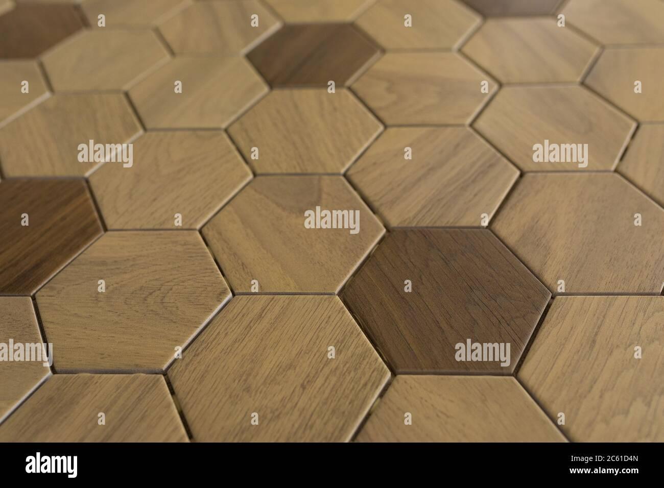 azulejos de cerámica con patrones de mosaico de diferentes colores primer plano, protector de pantalla de escritorio Foto de stock