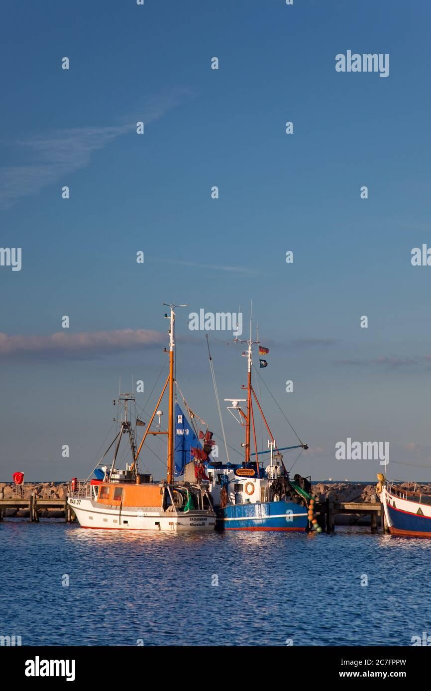 Alemania, Mecklemburgo-Pomerania Occidental, Mar Báltico, costa del Mar Báltico, costa, Mecklemburgo. Foto de stock