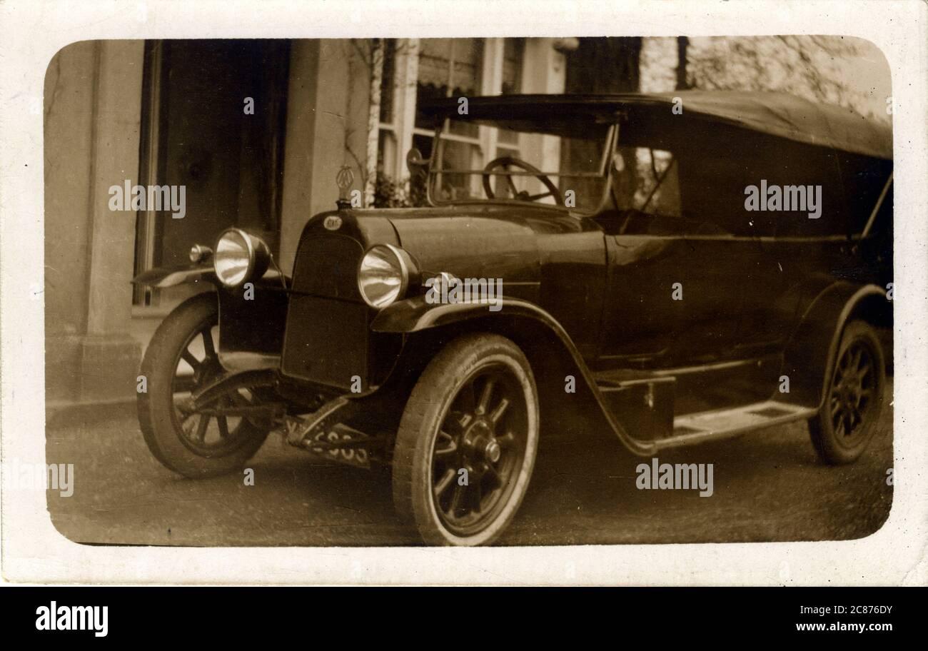 Fiat coche Vintage, Gran Bretaña. 1920 Foto de stock