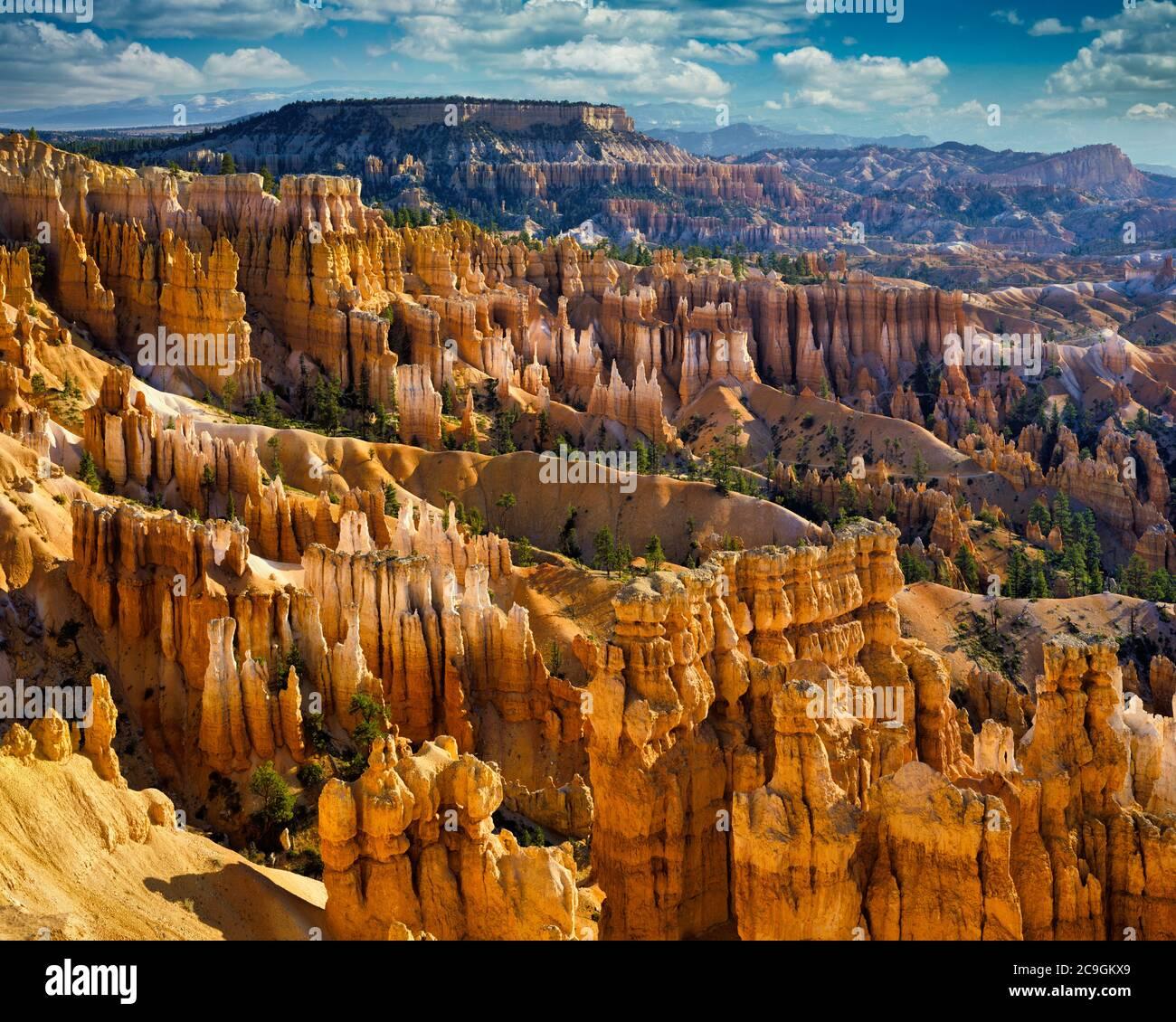 Estados Unidos - Utah: Bryce Canyon National Park visto desde Sunset Point Foto de stock