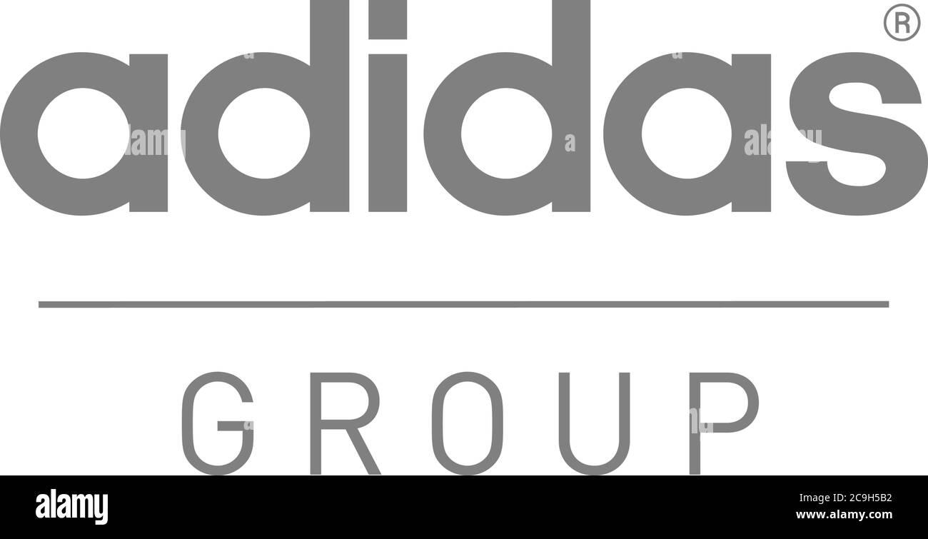 Haz un experimento región Oso polar  Logo adidas, Grupo adidas, fabricante de artículos deportivos, Marca  deportiva, opcional, fondo blanco Fotografía de stock - Alamy