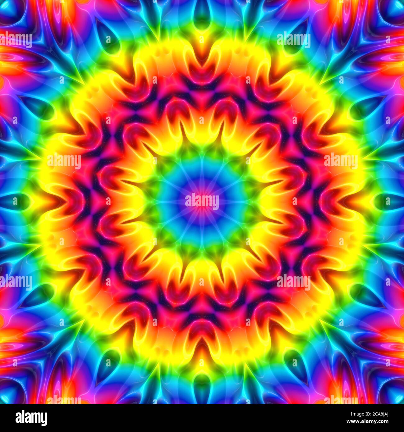 Patrón de color abstracto y fondo geométrico Foto de stock