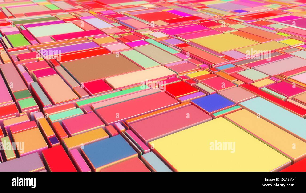 Fondo de color abstracto y colorido Foto de stock