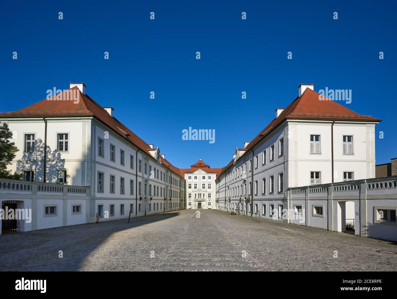 Hirschberg castillo, Beilngries, Baviera, Alemania Foto de stock