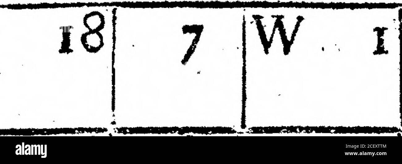 . Un Registro del tiempo para el año 1692, mantenido en Oates en Essex. Por el Sr. John Locke. Nubes* un poco (nower a~bout 10. waw»w*»«v*- - 12 6 IW 2 Nublado, * e. más Nubes I que Clear Sky. 10J 5 |S E 1 JCLOUDY. KB. Turbio figura más del cielo cubierto que claro.la feria figura más cielo abierto que cubierto con nubes. 11 90 8:0. i 9] 6 SO il.Nublado. _9I_512I 6 SW 1 RAM tor aproximadamente una hora. N E 1. Giofe j.e. el cielo en ningún lugar debe ser feen para Ciouds,a ihow*i er sobre 17. I81_8 J6W 1181 7 WN2 Fair, /. e. más nubes de cielo. ma#»+mr>-r ,•**« *• -*r««im, si«trarvn muy t aire. Lluvia fuerte abouho Foto de stock