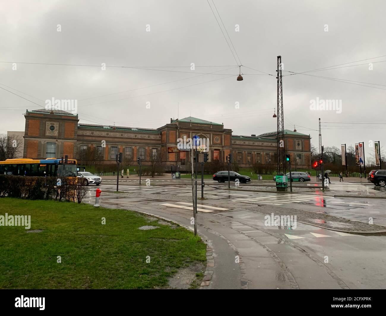 Fachada del museo SMK (Statens Museum for Kunst). Copenhague/ Dinamarca Foto de stock