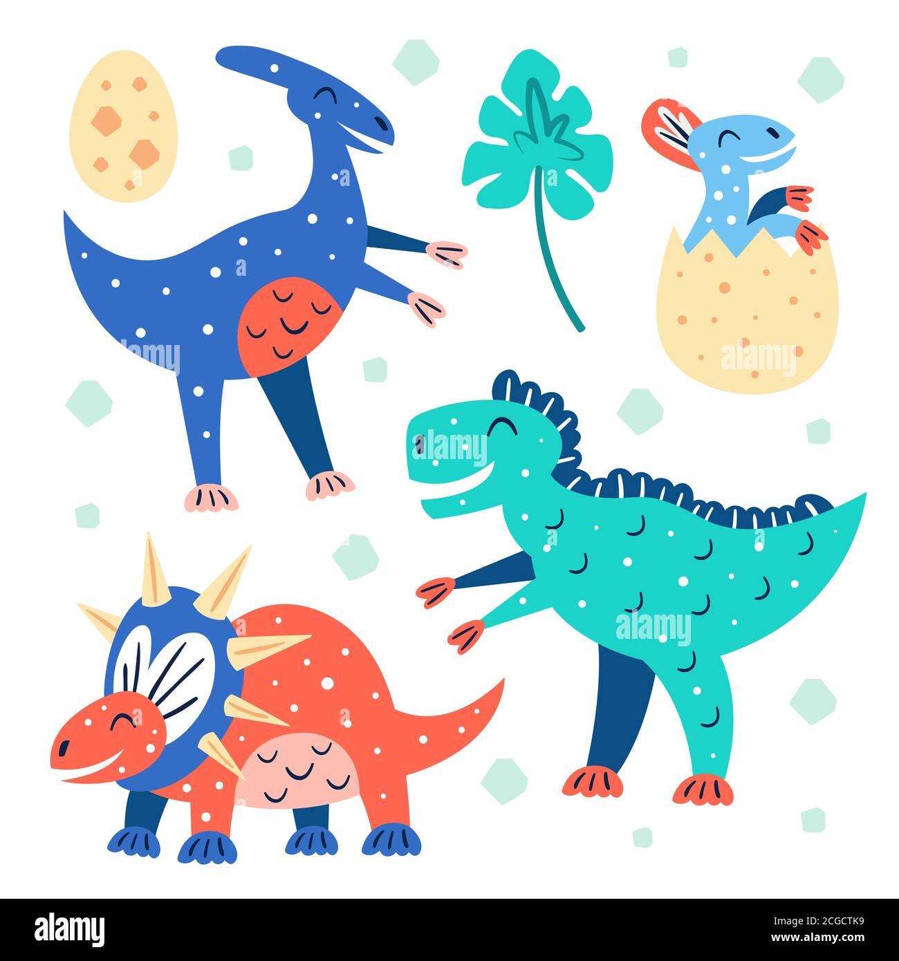 Conjunto De Pequenos Y Lindos Dinosaurios Triceratops T Rex Parasaurolophus Bebe Azul Dino En Huevo Animales Prehistoricos Mundo Jurasico Vector De Colores Planos Imagen Vector De Stock Alamy Pues ya verás cuando lo pongas a tu gusto: https www alamy es conjunto de pequenos y lindos dinosaurios triceratops t rex parasaurolophus bebe azul dino en huevo animales prehistoricos mundo jurasico vector de colores planos image371535005 html