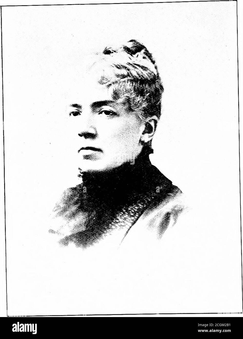 . Historia de Northfield, New Hampshire 1780-1905. En dos partes con muchos bocetos biográficos y retratos también imágenes de edificios públicos y residencias privadas. REV. B. A. ROGERS... MARY M. GILE. HOMBRES Y MUJERES PROFESIONALES. 167 hermana y varios asistentes. Dos años más tarde, Lie tomó una labor similar en Varsovia, N. Y. aquí disfrutó del conocido y amigo del Gobernador Pattison, hermano de la Sra. Mark Baker de Tilton, su padre amigo. Un aumento de sueldo lo llevó a Huntington, L. Y, más tarde, a Brooklyn, N. Y., y finalmente lo colocó en la cabeza de las escuelas de New Haven Foto de stock