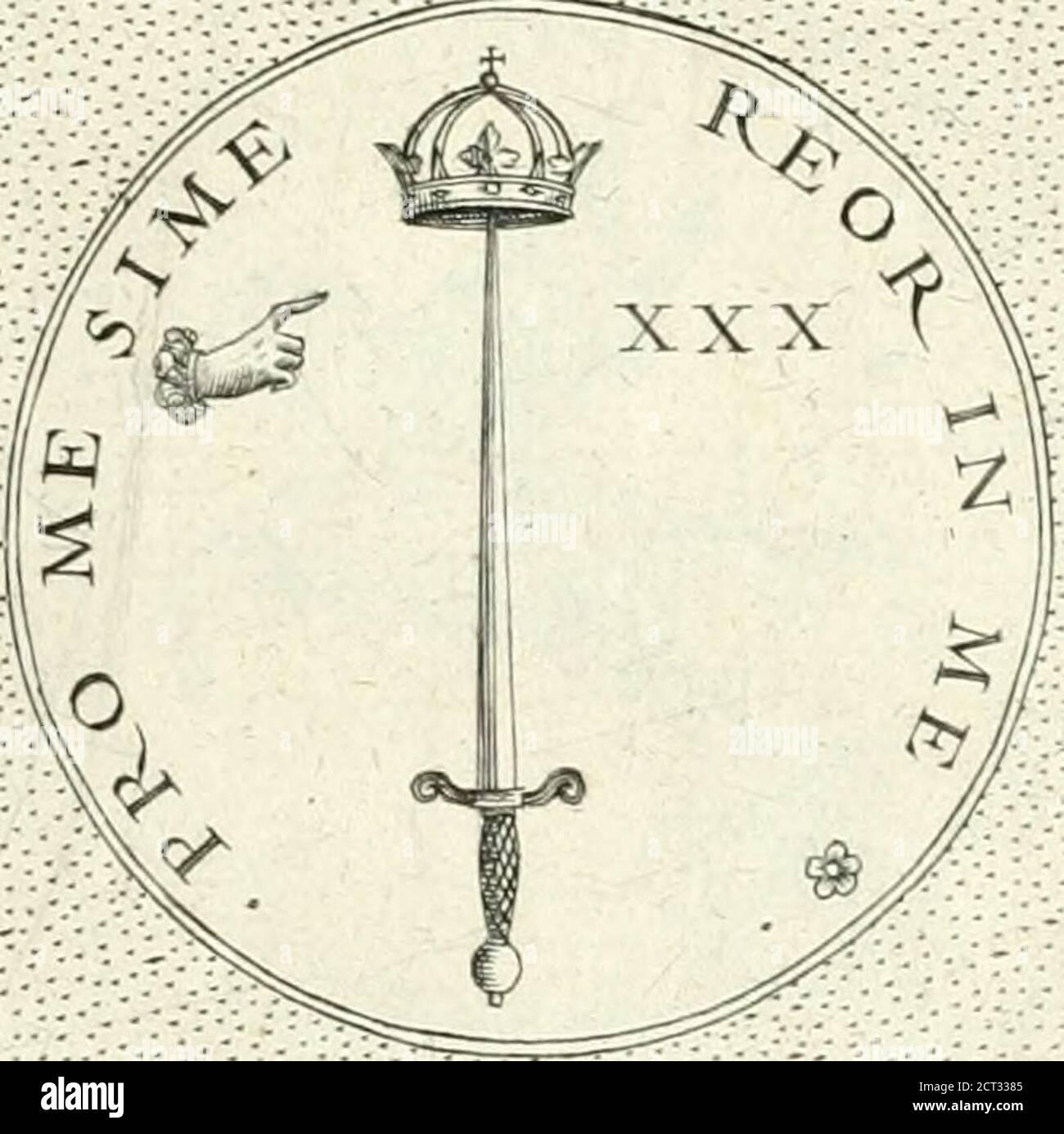 . Symbola diuina & humana pontificvm, imperatorvm, regvm : accessit breuis & facis isagoge IAC. Typotii : ex mvsaeo Octavii de Strada civis Romani : tomus primus[-tertius] .. V--------------------------------------------------------------------------- ■}:-/-;}:-:-:-/;i-V:-;:<:- e l?l?fimsm u/. J?P<7 pies/?a///r. J?h//sus /u/. Ji?TJ o//?a//f. Foto de stock