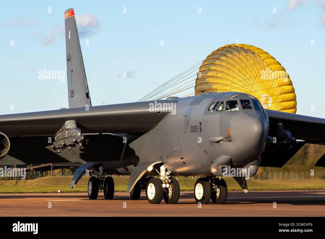 B-52 Stratofortress Foto de stock