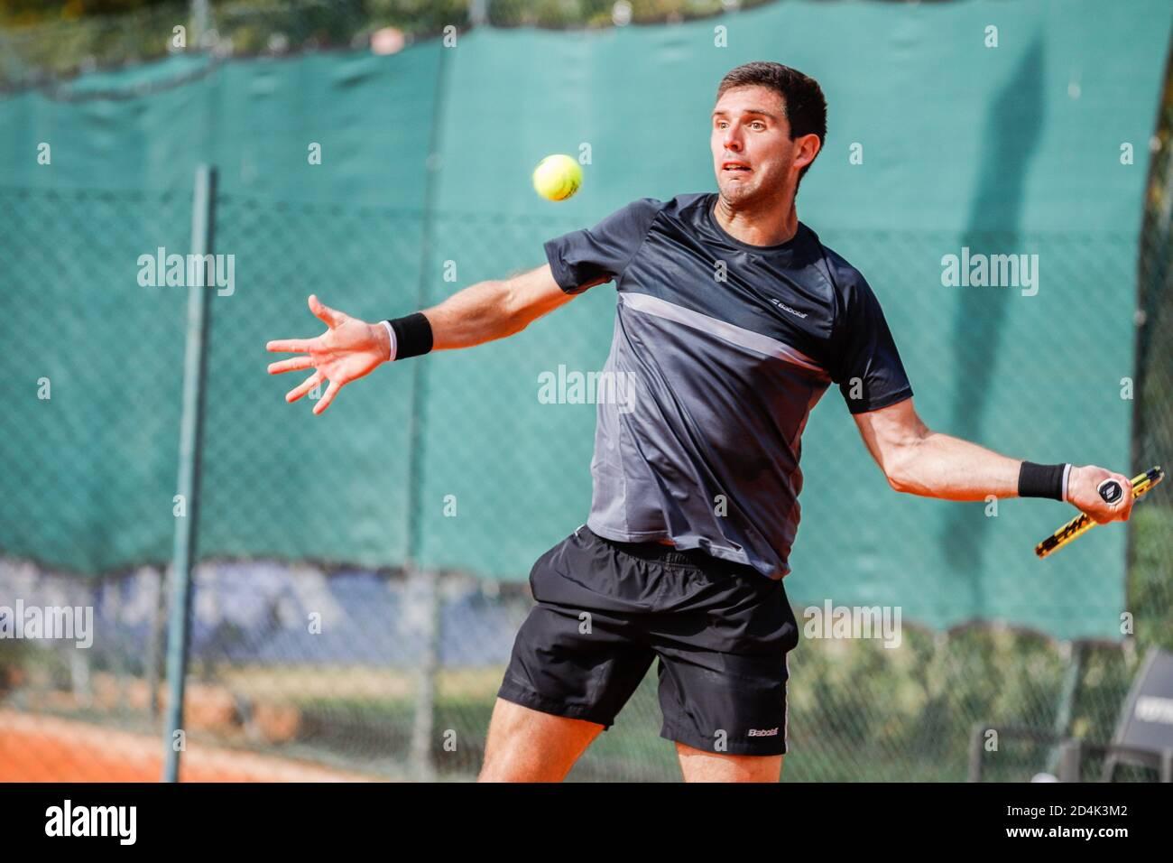 parma, Italia, 09 Oct 2020, Federico Delbonis durante ATP Challenger 125 - Internazionali Emilia Romagna, Tenis Internationals - crédito: LM/Roberta Corradin/Alamy Live News Foto de stock
