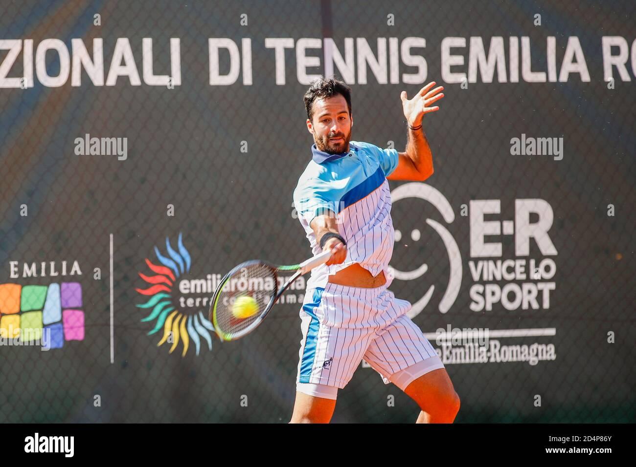 Salvatore Caruso durante ATP Challenger 125 - Internazionali Emilia Romagna, Tenis Internacionales en parma, Italia, Octubre 09 2020 Foto de stock