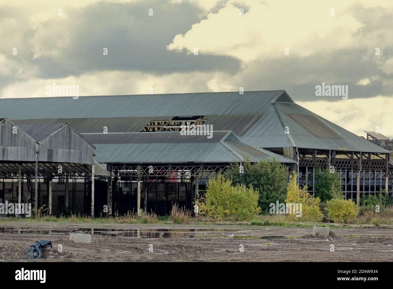Glasgow, Escocia, Reino Unido, 11 de octubre de 2020:Dennistoun votó el octavo mejor lugar en el mundo para vivir por tiempo fuera o el lugar ocho h más fresco para vivir en el mundo. La gentrificación de la zona de clase obrera del este se refleja en los sitios y la gente, el antiguo meaat de los manglares y el sitio de proime del mercado de ganado para la regeneración. Crédito: Gerard Ferry/Alamy Live News Foto de stock
