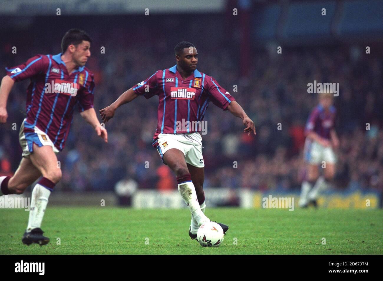 Dalian Atkinson, Aston Villa. Foto de stock