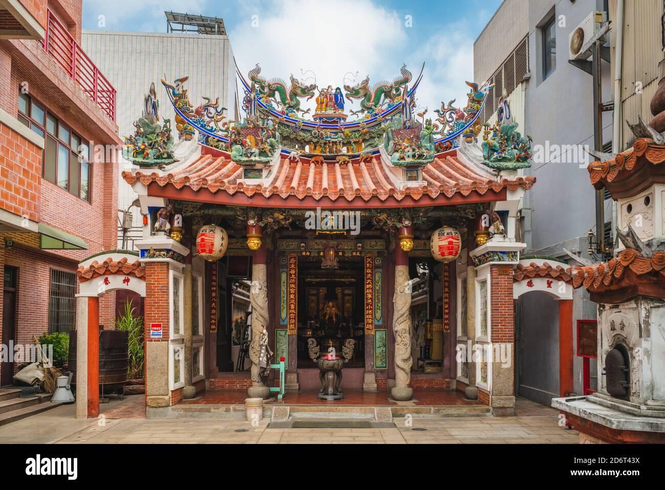 16 de octubre de 2020: El templo de Mazu fundador, fue construido en 1662 durante la Dinastía Ming y el templo de Mazu construido privadamente más temprano situado en tainan, Foto de stock