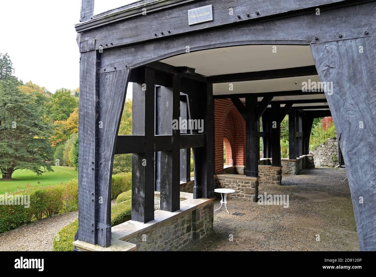 Caer Beris Manor Hotel and Restaurant, Builth Wells, Brecknockshire, Powys, Gales, Gran Bretaña, Reino Unido, Reino Unido, Europa Foto de stock