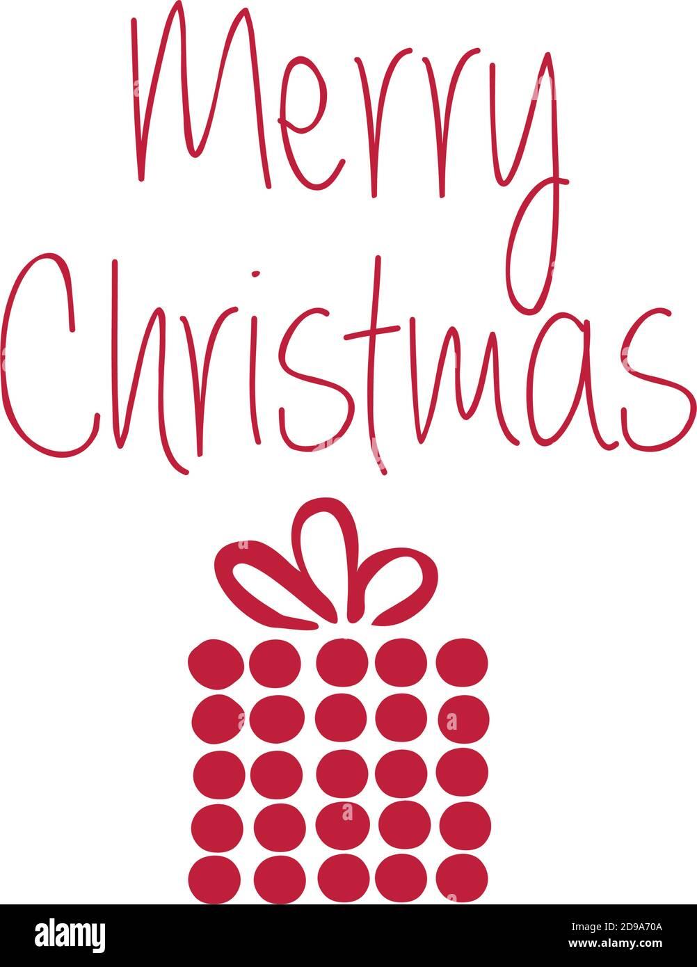 Oferta especial de Navidad Diseño para impresión o uso como póster, tarjeta, volante o camiseta Ilustración del Vector