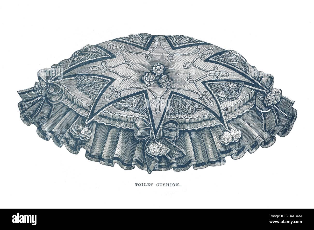 Libro y Revista de la Señora de Godey, diciembre de 1864, volumen LXIX, (volumen 69), Filadelfia, Louis A. Godey, Sarah Josepha Hale, Foto de stock