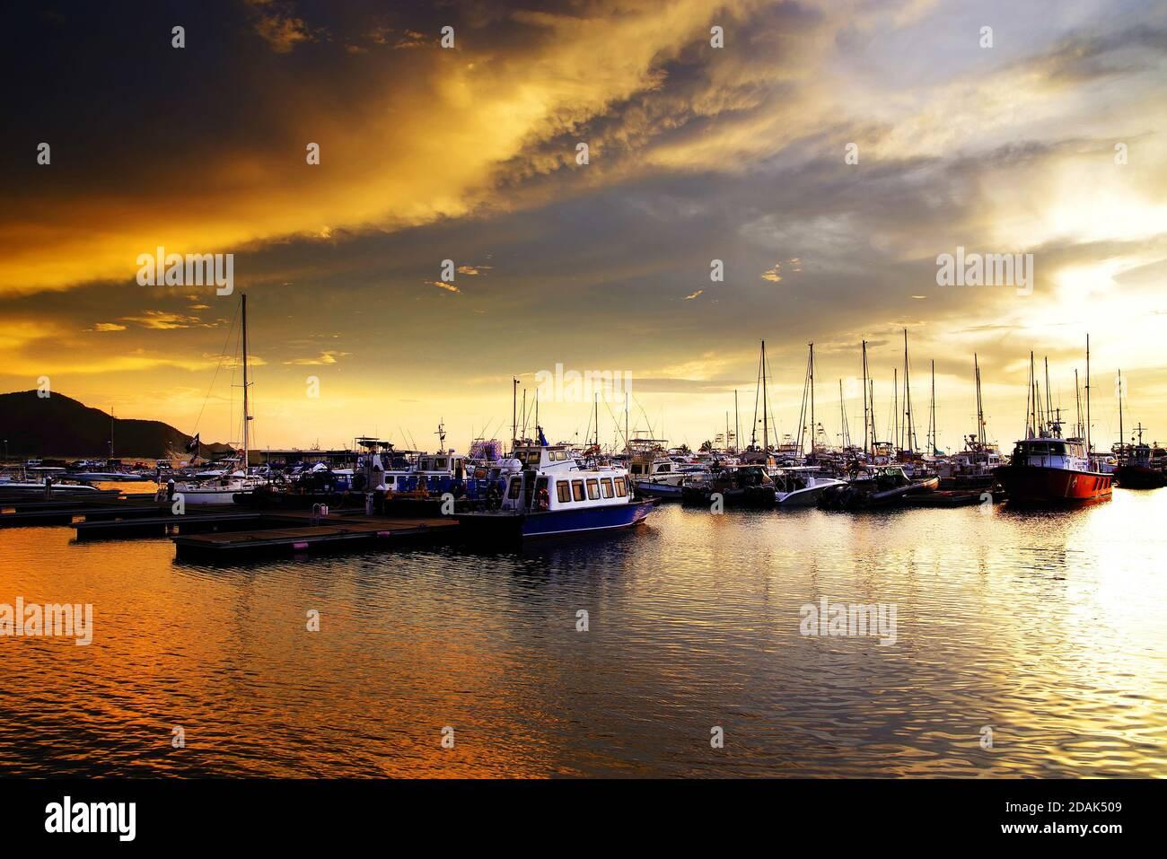 Santa Marta Resort, Condado de Maddalena, Colombia, América del Sur Foto de stock