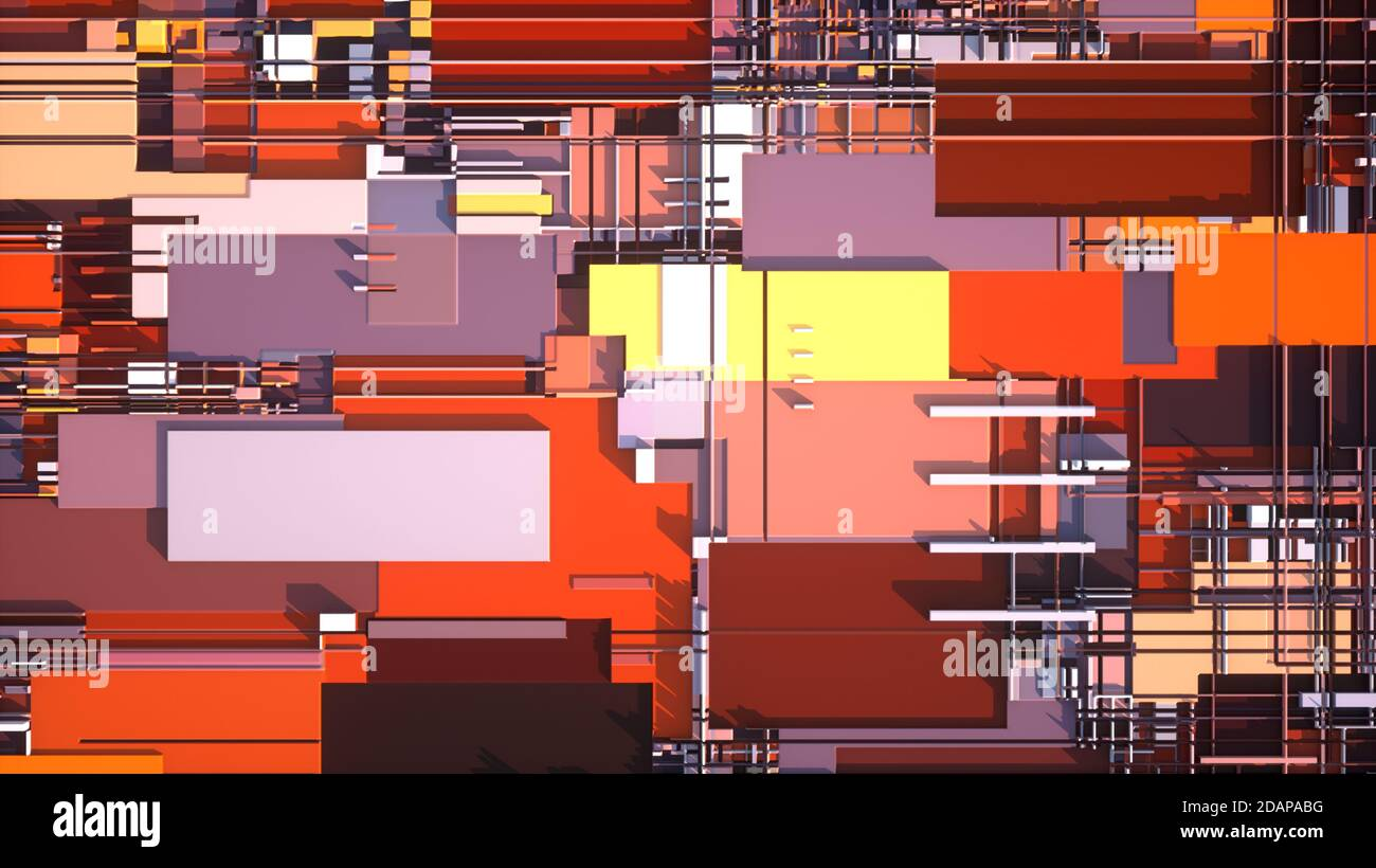 Repetir fondo de patrones de color Foto de stock