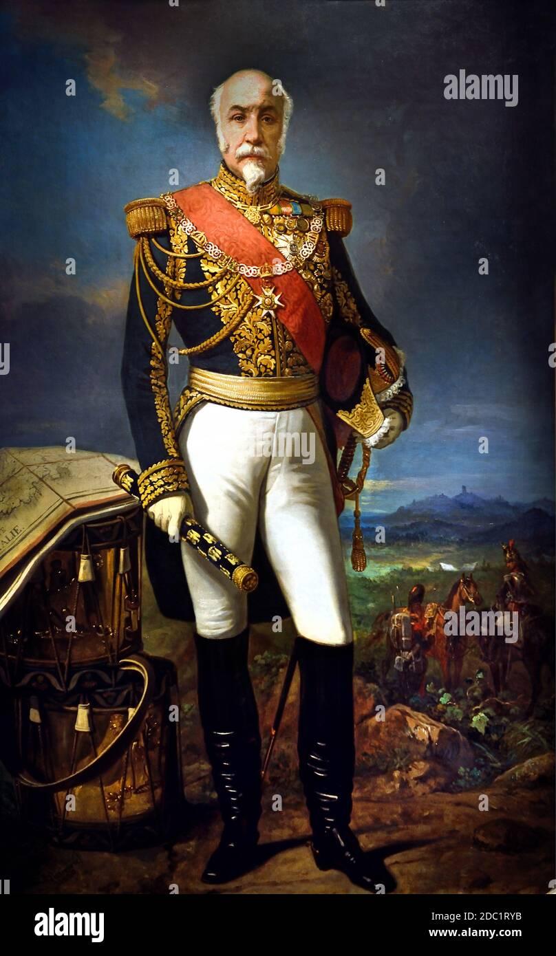 Auguste Michel Étienne Regnaud de Saint-Jean d'Angély - 2º Conde Regnaud de Saint-Jean d'Angély , 1794 – 1870, Mariscal de Francia, soldado y político. Francia, francés. ( ejército del emperador Napoleón Bonaparte ) Foto de stock