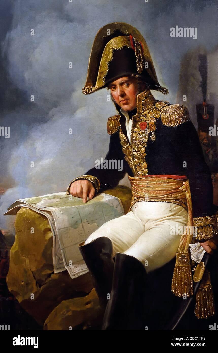 General B.G.F. Frere - Bernard-Georges-François Frère, (1767-1828 1808) por Nicolas Gosse 1787 -1878, Francia, francés. ( ejército del emperador Napoleón Bonaparte ) Foto de stock