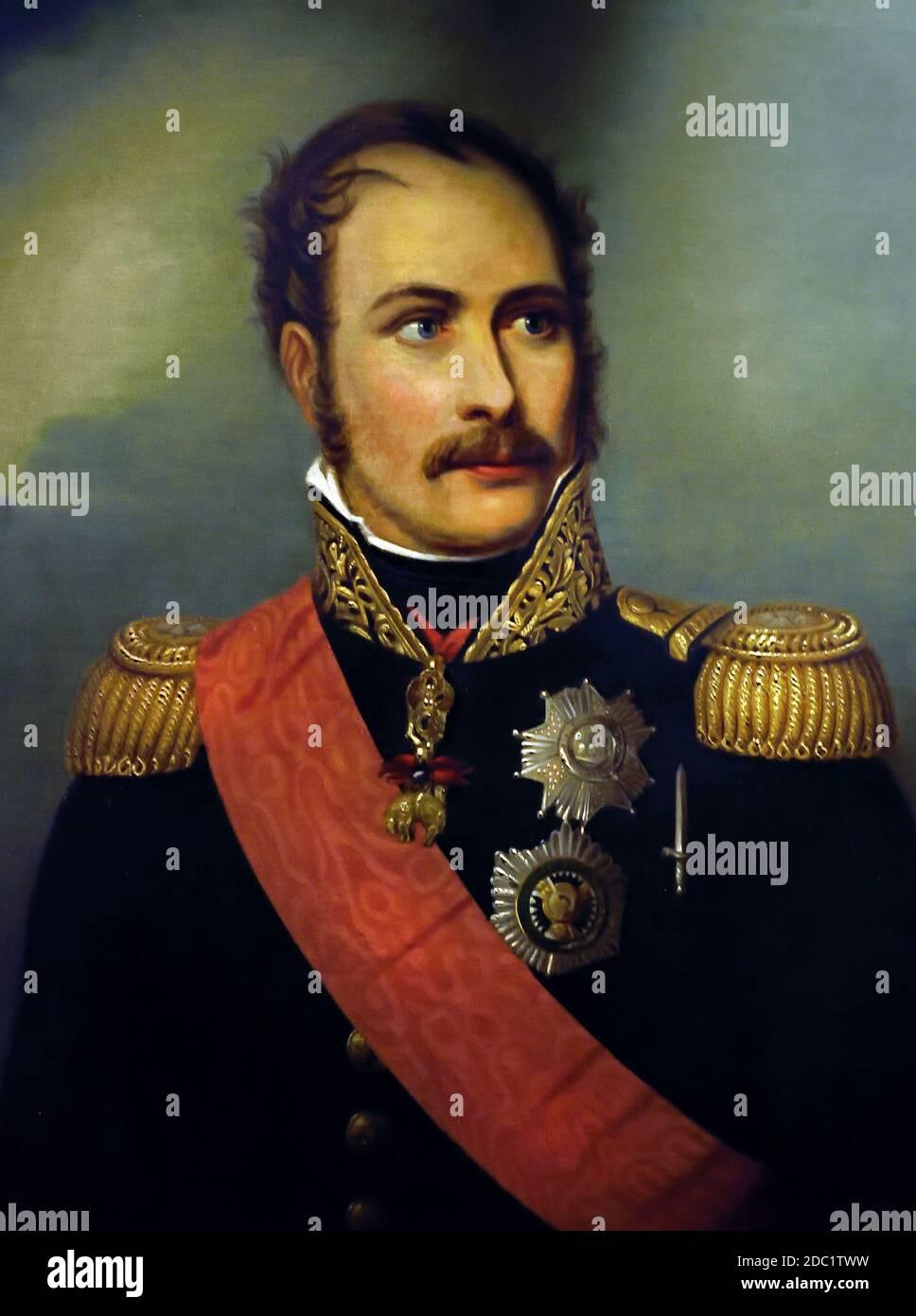 Príncipe Eugenio de Beauharnais 1781-1824 Francia, francés. ( ejército del emperador Napoleón Bonaparte ) Foto de stock