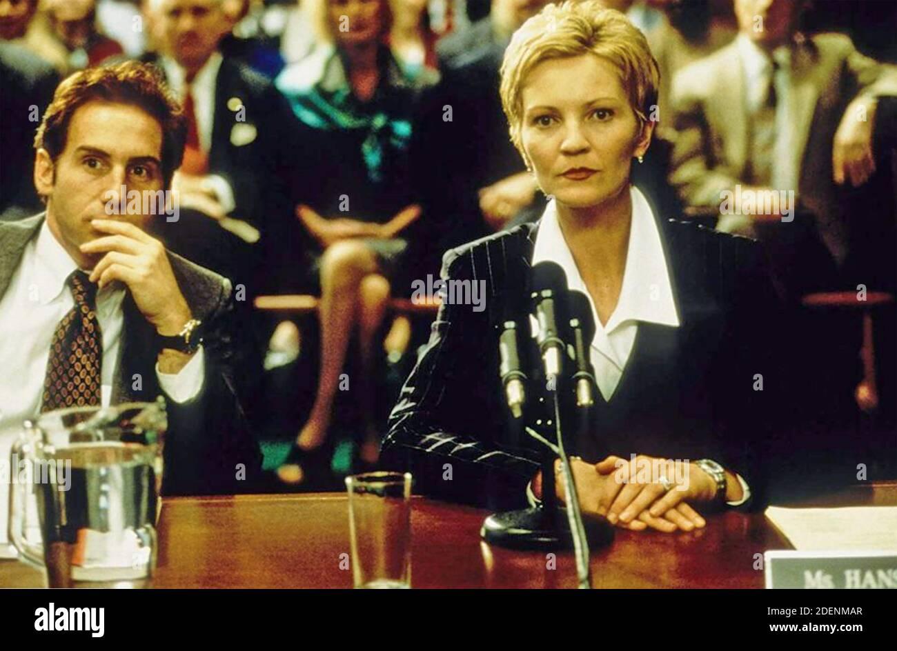 EL CONTENDIENTE 2000 Dream Works Pictures película con Joan Allen Y Mike Binder Foto de stock