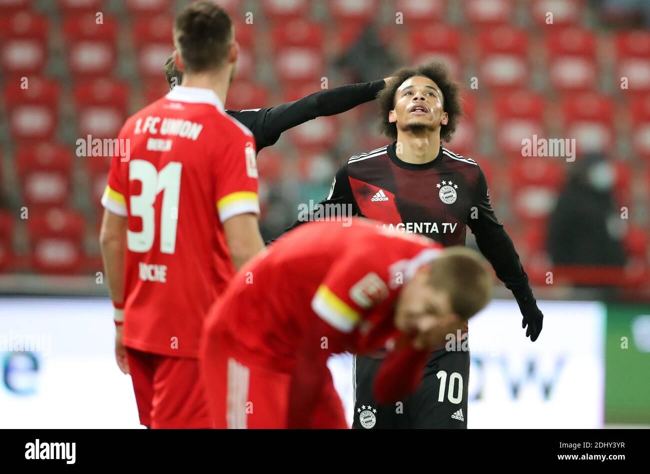 Berlín, Alemania. 12 de diciembre de 2020. Leroy Sane FC Bayern Munich FC Unión Berlín - FC Bayern Munich 12.12.2020 estadio an der alten Foersterei Fútbol 1 . Bundesliga Saison 2020 / 2021 crédito : diebilderwelt / Alamy Live News Foto de stock