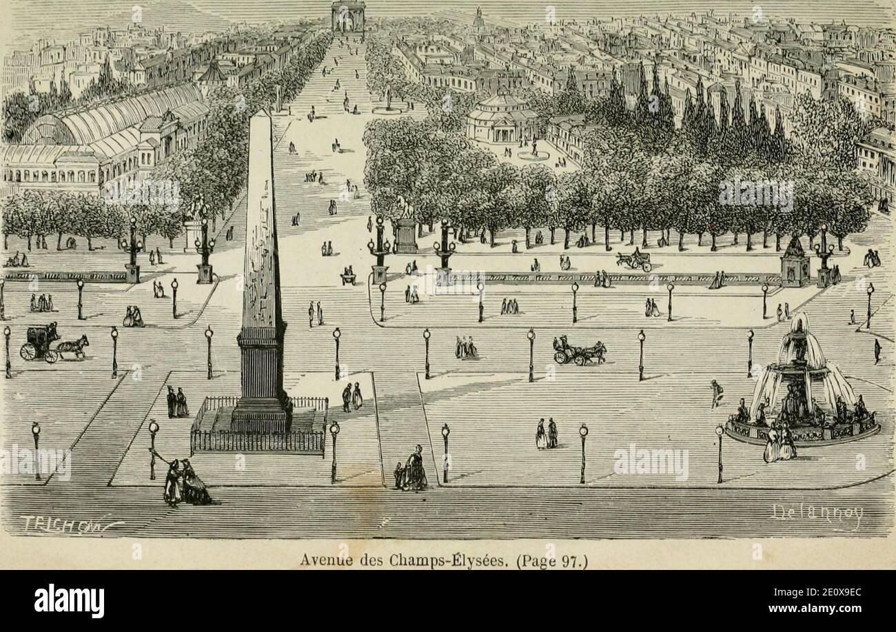 Les merveilles du nouveau Paris- (1867) (14576976760). Foto de stock