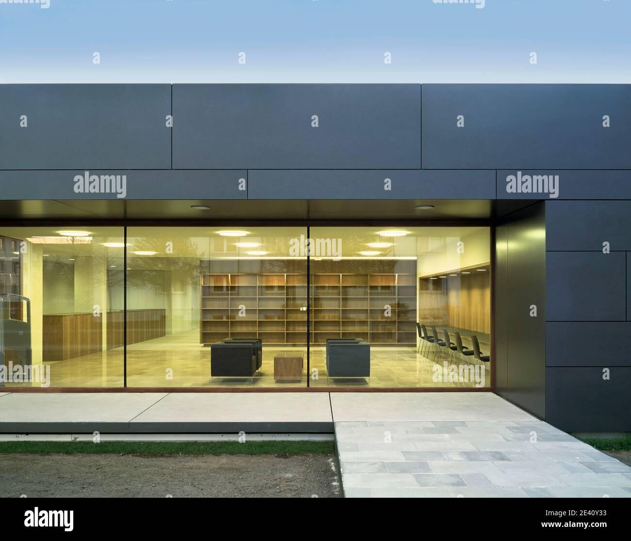 Bibliothek FSHV Meissen, sachsen, sajonia, Sachsen, Sajonia, europa, Europa, Europa, bibliothek, biblioteca, biblioteca, biblioteca, arquitecto: dd1 Archit Foto de stock
