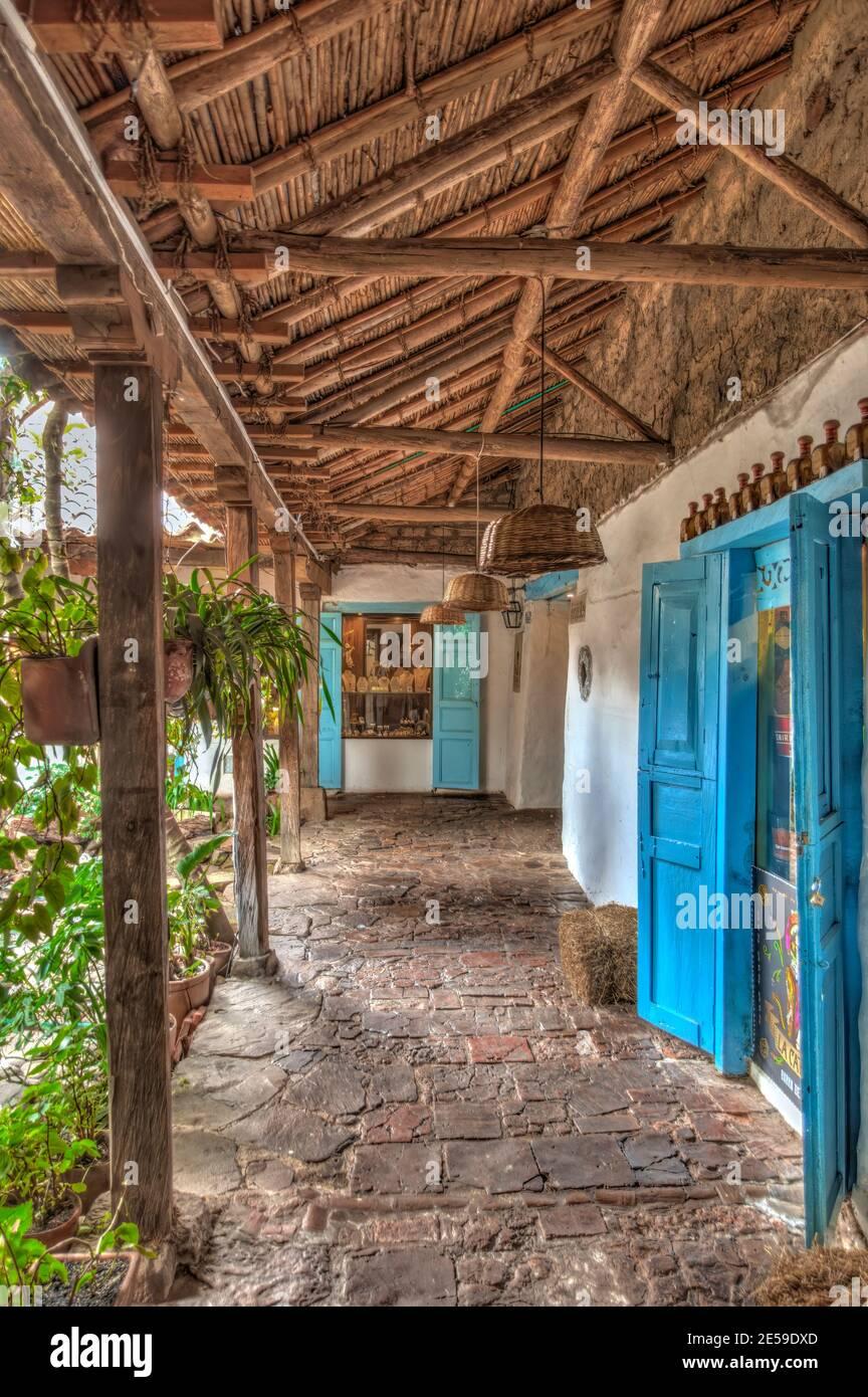 Villa de Leyva, Colombia Foto de stock