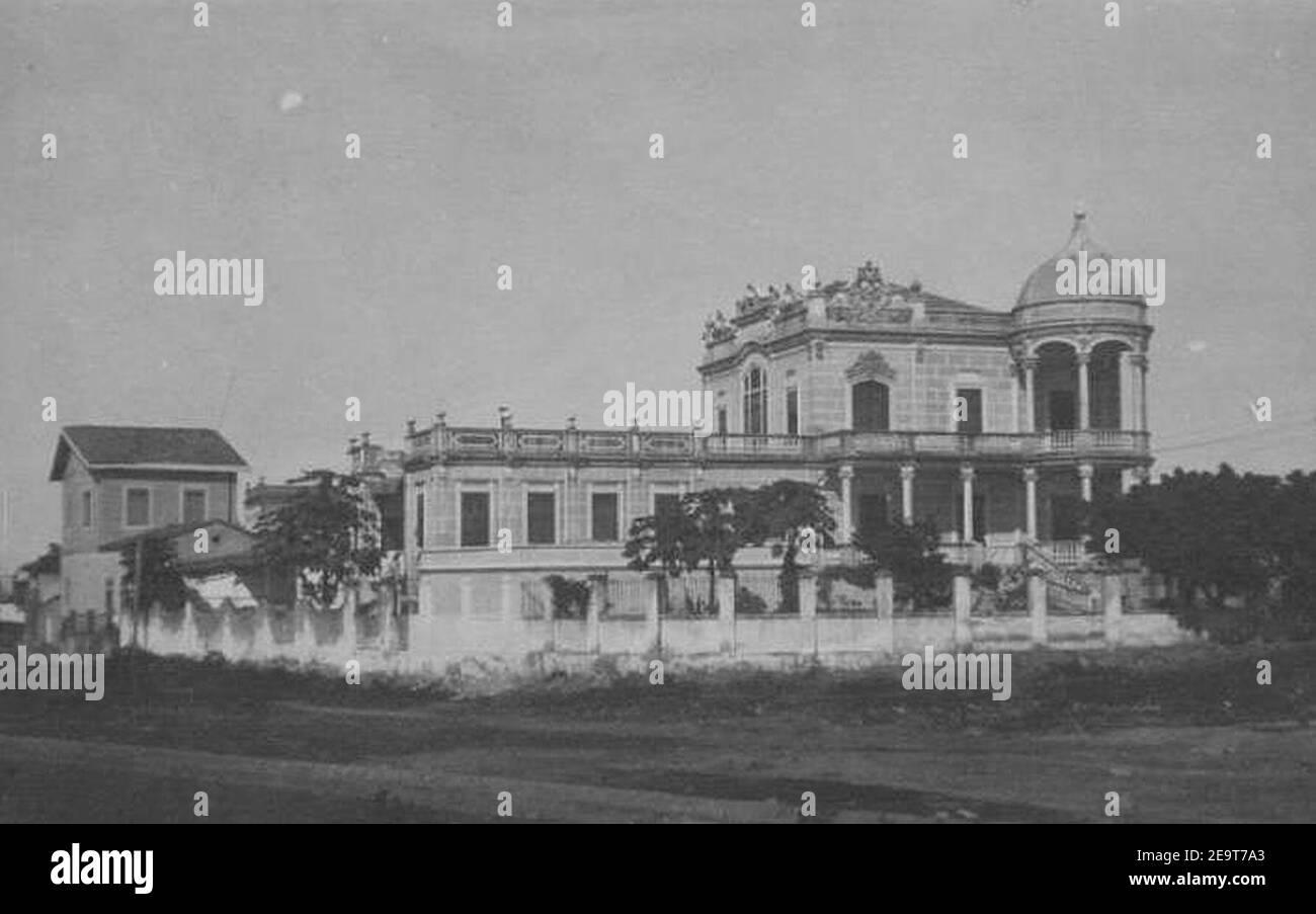 Museu Théo Brandão (Palacete Arthur Machado) 01. Foto de stock