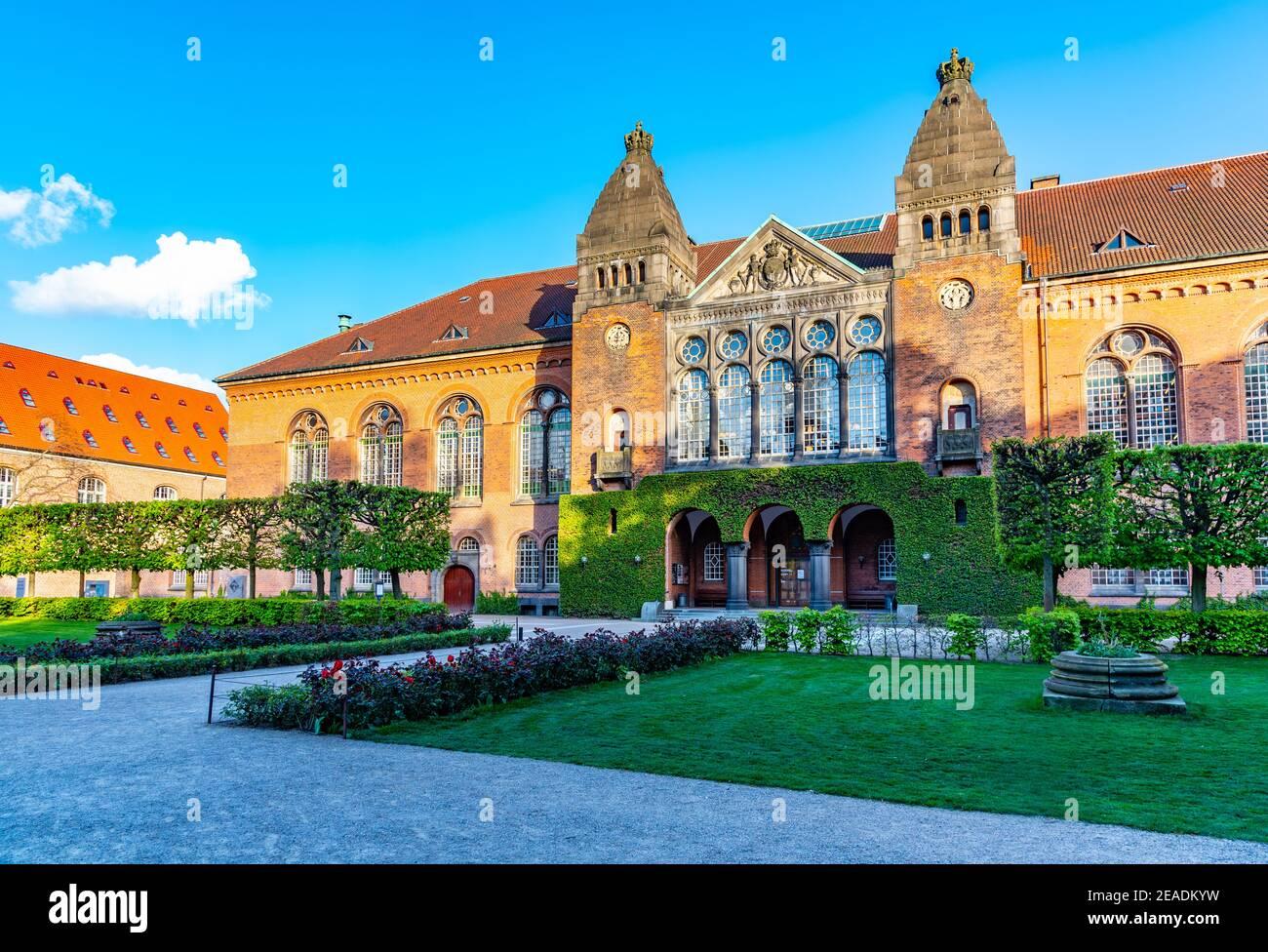 Museo Judío en el Palacio Christiansborg en Copenhague, Dinamarca Foto de stock