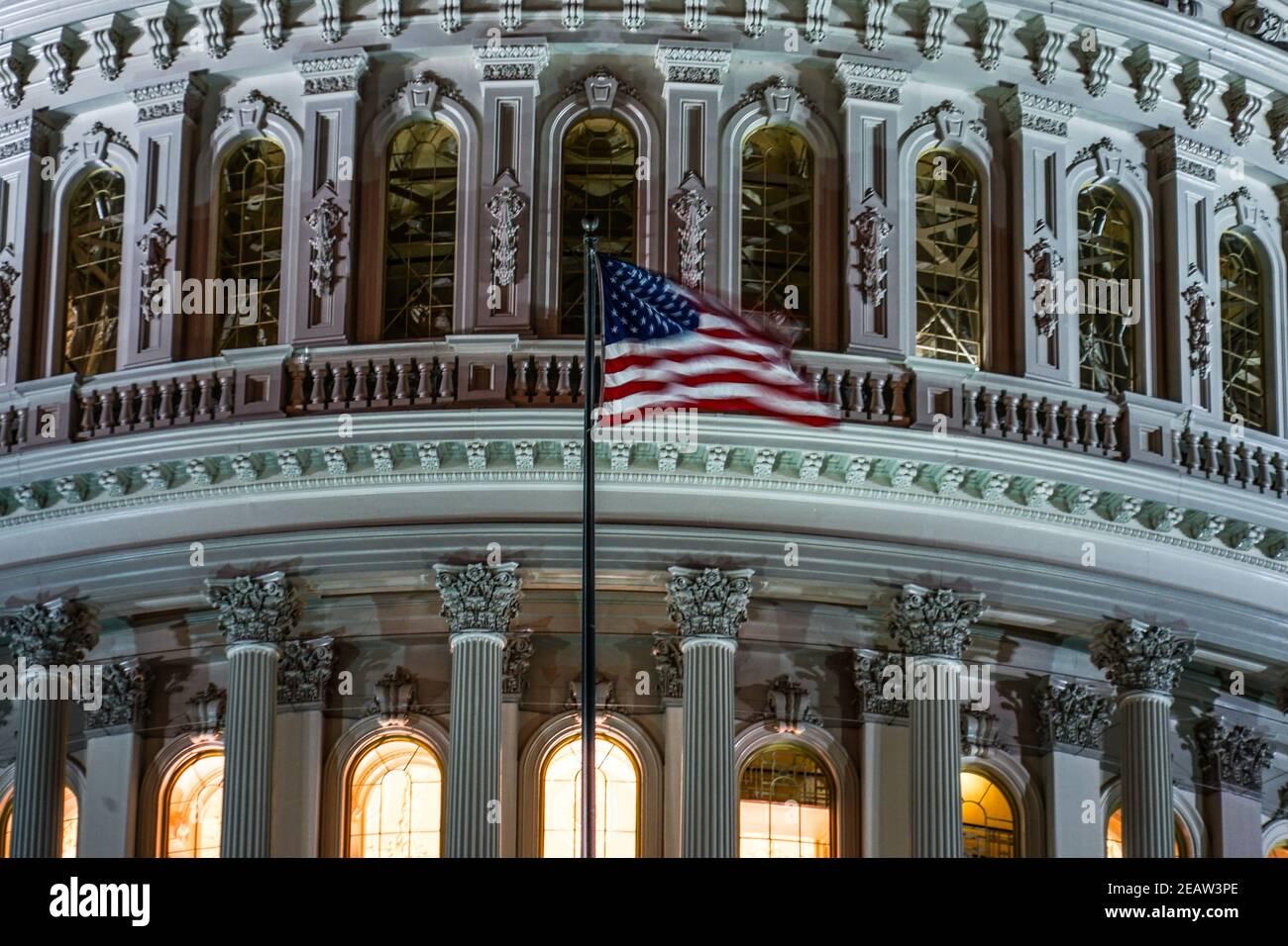 Capitolio de los Estados Unidos (Capitolio de los Estados Unidos) Foto de stock