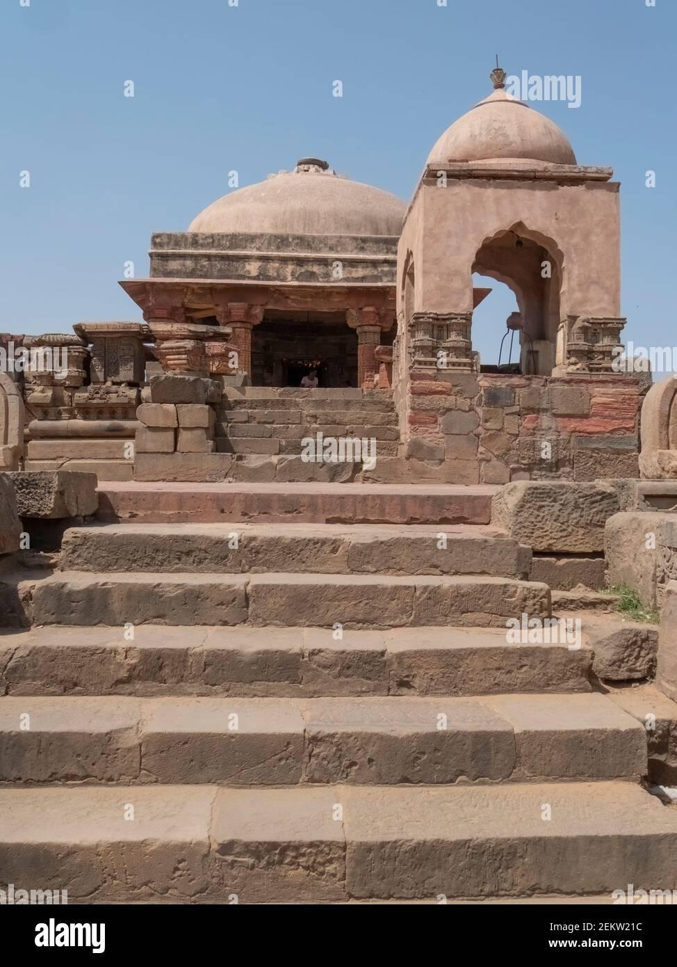 harshad mata templo hindú situado en el pueblo de abhaneri en el estado indio de rajasthan Foto de stock