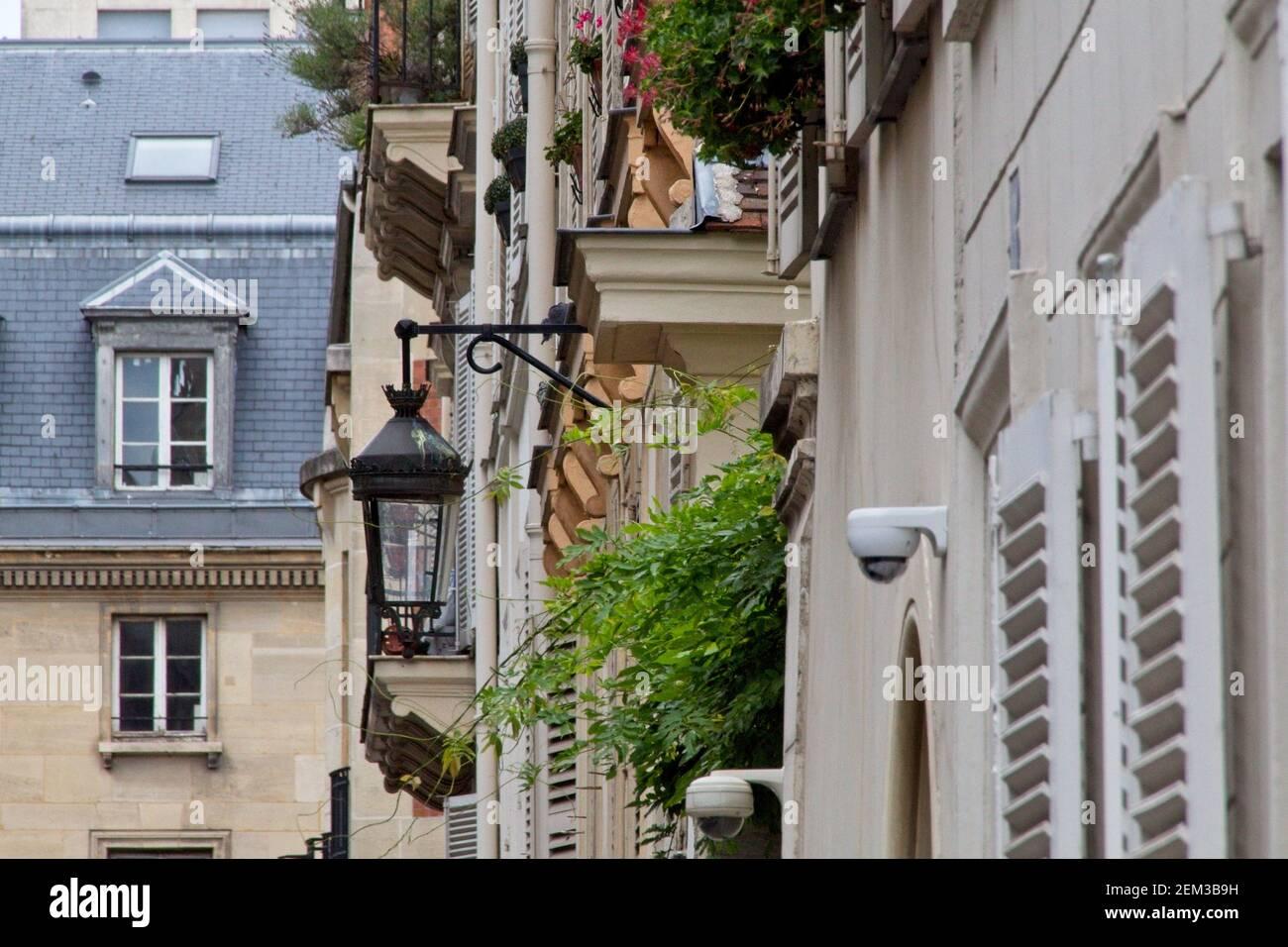 calle en la ciudad Foto de stock