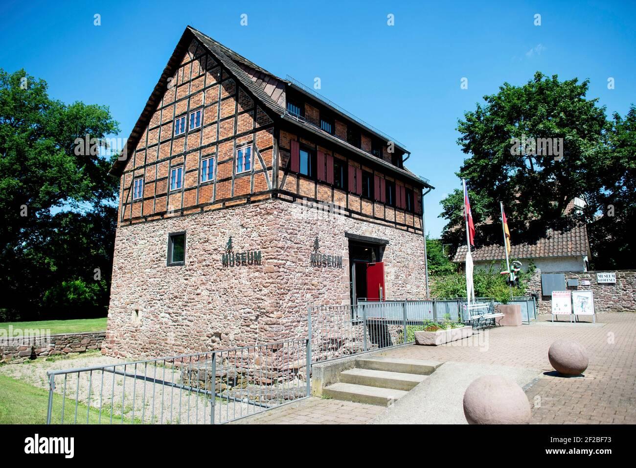 Bodenwerder, Alemania. 23rd de junio de 2020. El histórico museo del barón Muenchhausen en Bodenwerder (Alemania), 23 de junio de 2020. Crédito: dpa/Alamy Live News Foto de stock
