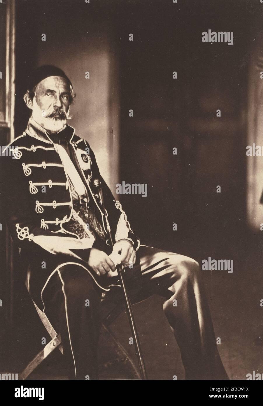 Omar Pacha, 1855. Foto de stock