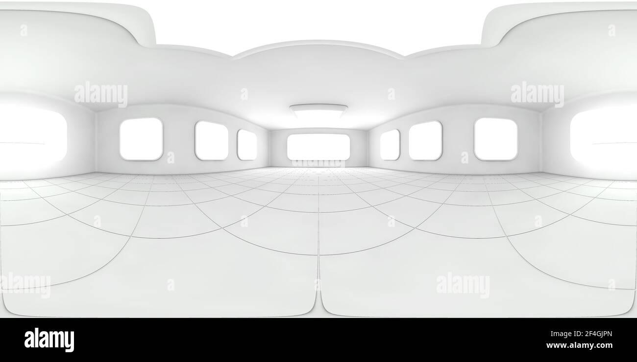 3D rendering hdr entorno mapa Foto de stock
