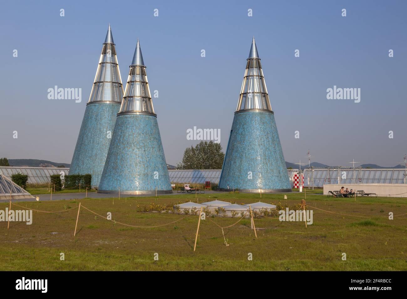 Geografía / viajes, Alemania, Renania del Norte-Westfalia, Bonn, prominente eje de luz en el falso y exhib, Derechos adicionales-liquidación-Info-no-disponible Foto de stock