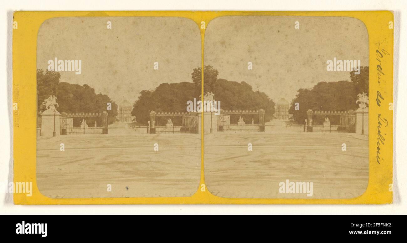 Jardin des Tulleries. Achille Quinet (francés, 1831 - 1900) Foto de stock