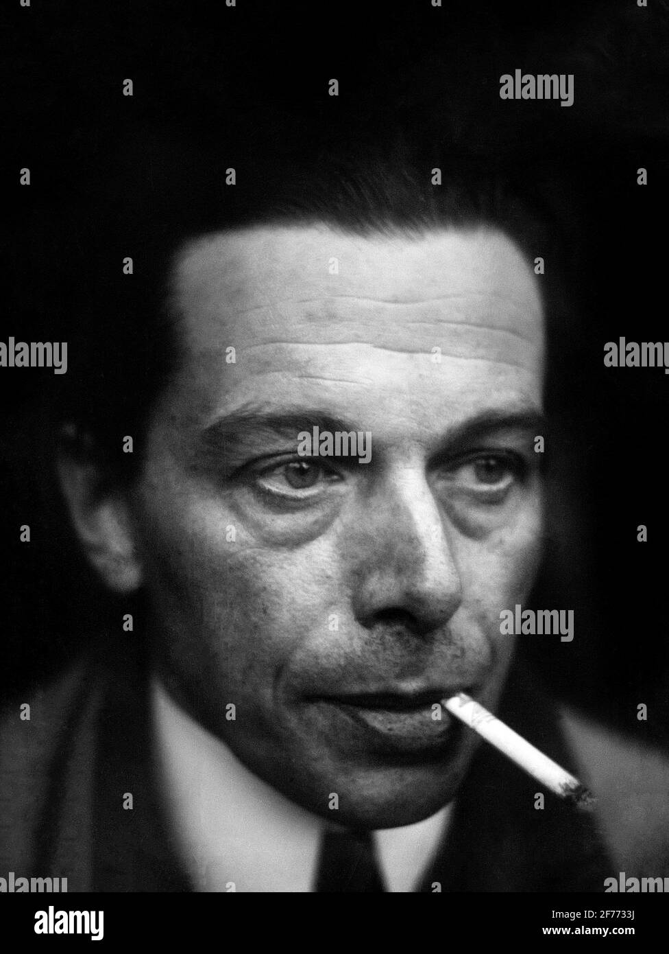Ernst Ludwig Kirchner (1880-1938), autorretrato, 1928 Foto de stock