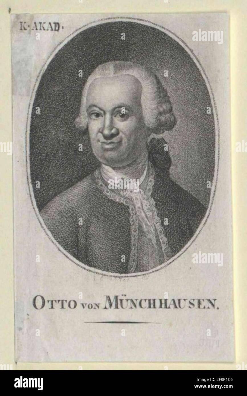 Münchhausen, Otto Freiherr. Foto de stock
