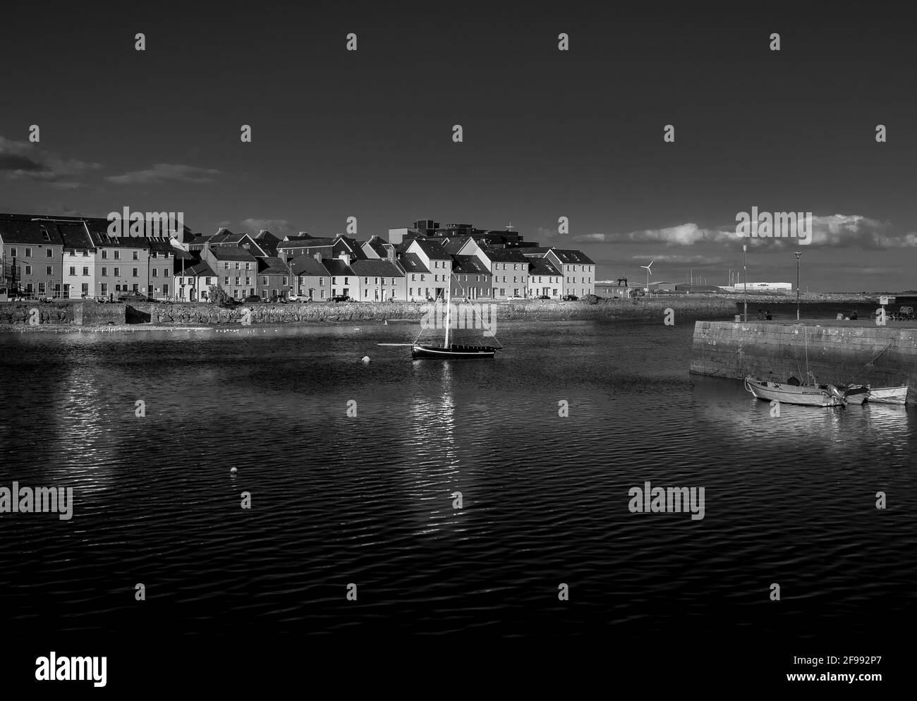 Claddagh Galway en Irlanda - Fotografía Artística Foto de stock