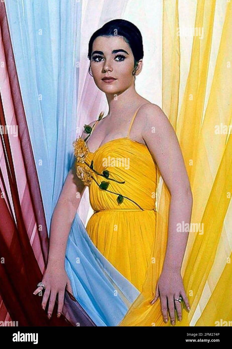 ANNA MARIA ALBERGHETTI actriz cinematográfica italiana-americana en 1960 Foto de stock