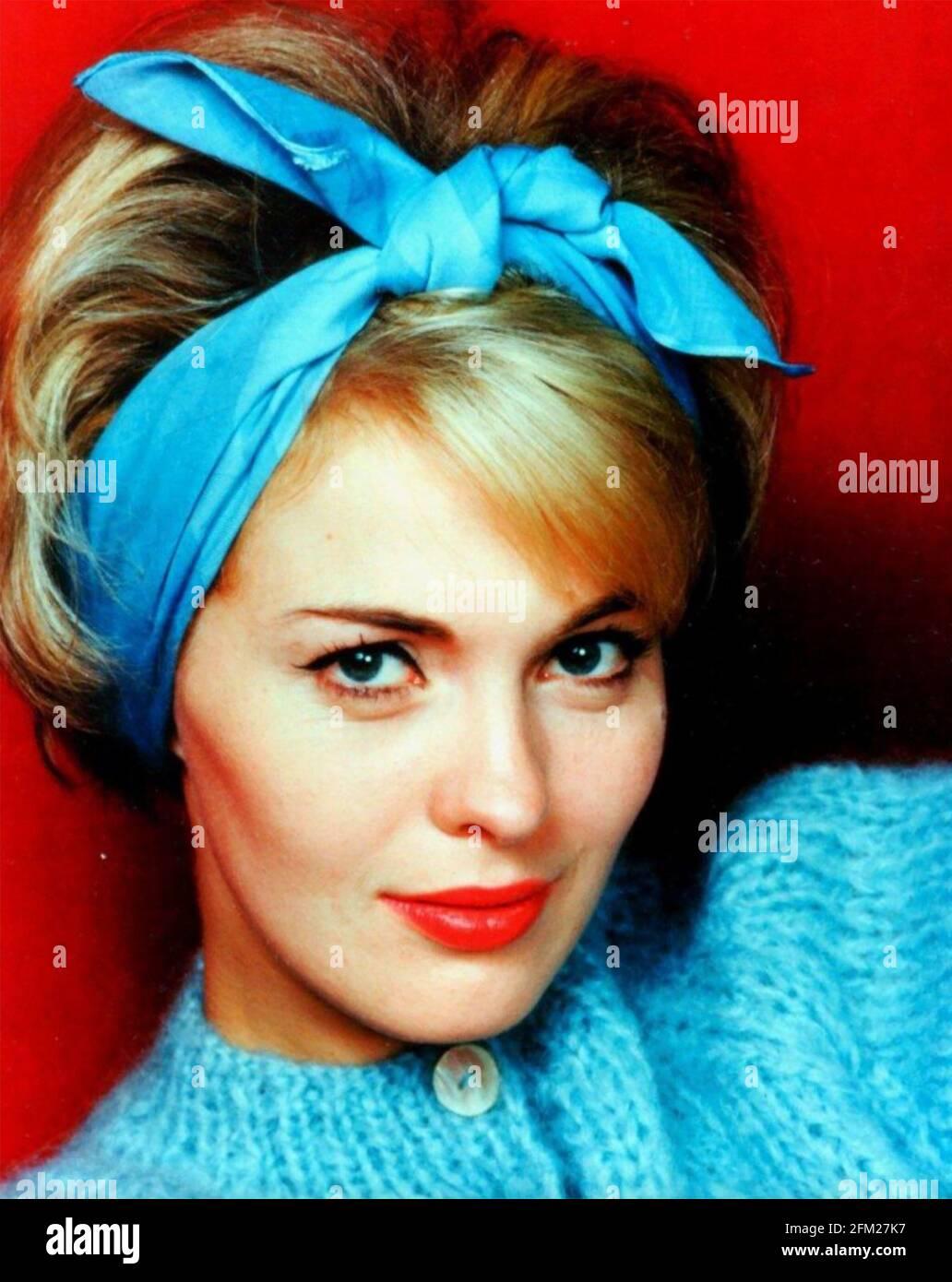 JEAN SEBBERG (1938-1979) actriz cinematográfica estadounidense cerca de 1965 Foto de stock